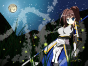 月の見ゆる夜