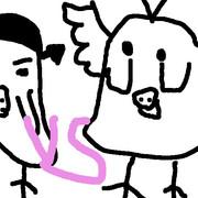 キイロイトリの天使VS悪魔