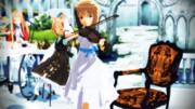 お茶会にバイオリンを