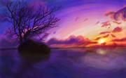 【おえかきの森】風景画その2【頑張って描いてみた】