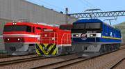 最近出た機関車