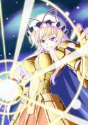 東方黄金聖闘士 双子座の紫