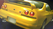 NISSAN SKYLINE GT-R R33 描いてみた