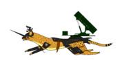 家庭用、動物兵器 [チーター501.A183C-PAC3]