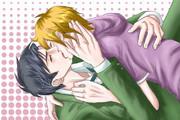 【腐向け】ショタとリーマンのキス【依頼絵消化】