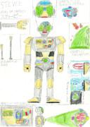 ロボット・スティービー(放射戦隊オーロラマン)