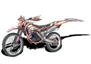 バイク×ジンオウガ亜種