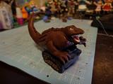オーブン粘土で恐竜戦車!