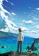 思い出の海