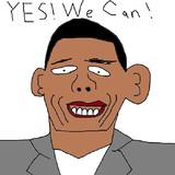 バラク・オバマ大統領 描いてみた