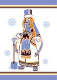 シベリア系女子