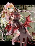 天使少女と悪魔少年