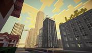 【Minecraft】 影MODで見る礼幌市の早朝2