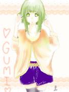 14歳がSAIではじめてGUMIを描いてみた