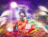 月愛ずる姫君~中秋の名月~