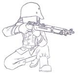ドイツ国防軍ライフル兵(九九式小銃ver.)