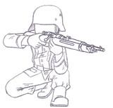 ドイツ国防軍ライフル兵【カルカノM1938ver.】