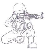 ドイツ国防軍ライフル兵【StG44(MP44)ver.】