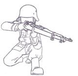 ドイツ国防軍ライフル兵【スプリングフィールドM1903ver.】