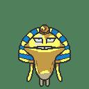 GIFアニメで・・・黄金なめこ・・・・描いてみた・・・・よ