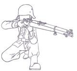 ドイツ国防軍ライフル兵【リー・エンフィールドライフルver.】