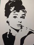 【切り絵】Audrey Hepburn