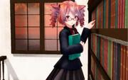 放課後の図書室