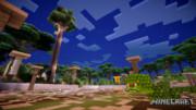 【Minecraft】壁紙【The Twilight Forest+影+水】