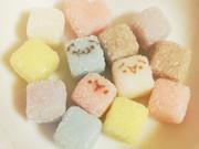 (´・ω・)顔文字さんカラフル角砂糖(・ω・`)