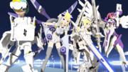 武装神姫でMMDロボ子祭り