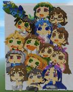 【Minecraft】ぷちますアニメ化記念ドット【アイドルマスター】