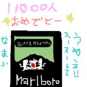 11000人記念(・ω・`*))