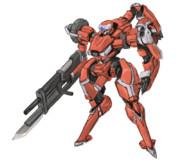 "X-10派生 装甲強襲歩兵""三本腕(triarms)"""