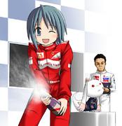 F1 日本GP マッサヤカ 2位!