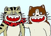 【マウス】二匹のぬこ
