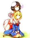てゐちゃんとアリス