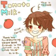 トマト牛乳さん【アイコン】