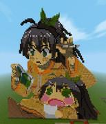 【Minecraft】響ちゃんお誕生日記念ドット【アイドルマスター】