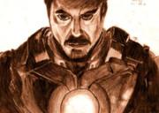アイアンマン トニー・スタークを描いてみた