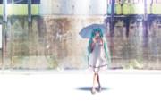 【壁紙】 白ワンピミクさん 【Retinaディスプレ】