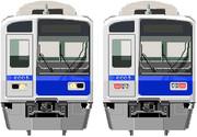 マウスでかいたぉ(^ω^)⊇西武6000系ver.1.2【白顔】