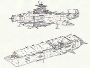 宇宙巡洋戦艦オーストラリア&宇宙航空母艦シドニー「自作艦」