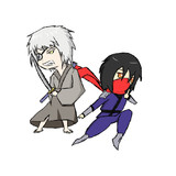 【ドリメン】武士と忍者