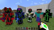 【Minecraft】ロボ系?アーマーテクスチャ&スキン