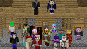 Minecraft マルチで全アイテム収取!記念撮影