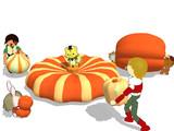 収穫祭【かぼちゃアクセサリ配布】