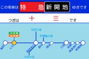 阪急神戸線のLCD画面を作ってみた2