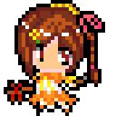 ドット絵で神坂春姫を描いてみた
