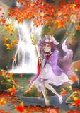 秋の地蔵狐ちゃん