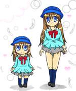 幼稚園の制服を女子高校生が着たらこうなった